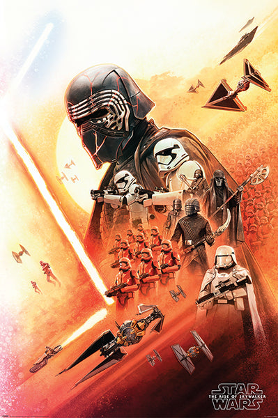 Star Wars The Rise of Skywalker The Empire Movie Poster EgoAmo Posters