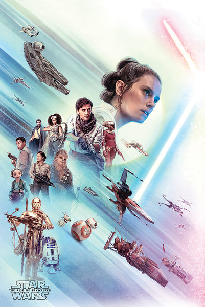 Star Wars The Rise of Skywalker The Force Movie Poster EgoAmo Posters
