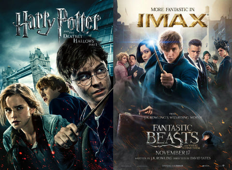 Harry Potter and Fantastic Beasts and Where to Find Them Collection