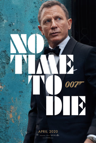 James Bond No Time to Die Movie Poster EgoAmo Posters