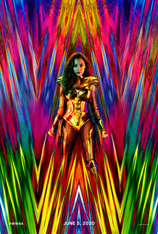 Wonder Woman 1984 teaser movie poster EgoAmo Posters.