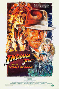 Indiana Jones and the Temple of Doom Poster - egoamo.co.za