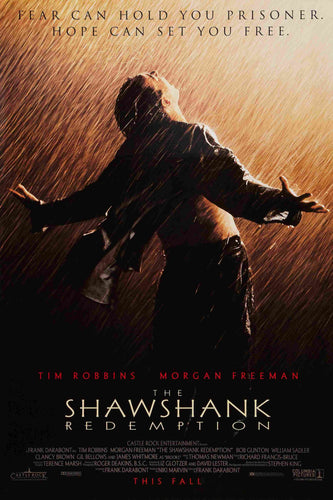 The Shawshank Redemption One Sheet Poster - egoamo.co.za