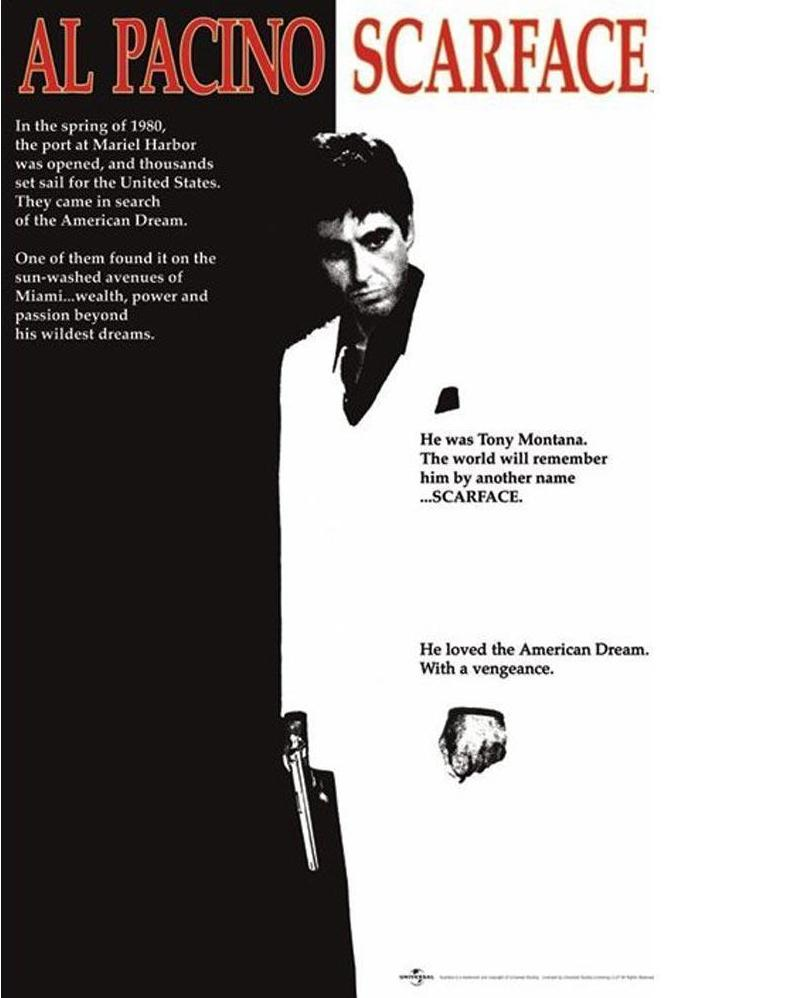 Scarface Poster - egoamo.co.za