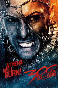 300: Rise of an Empire- Athens will burn - Poster - egoamo.co.za