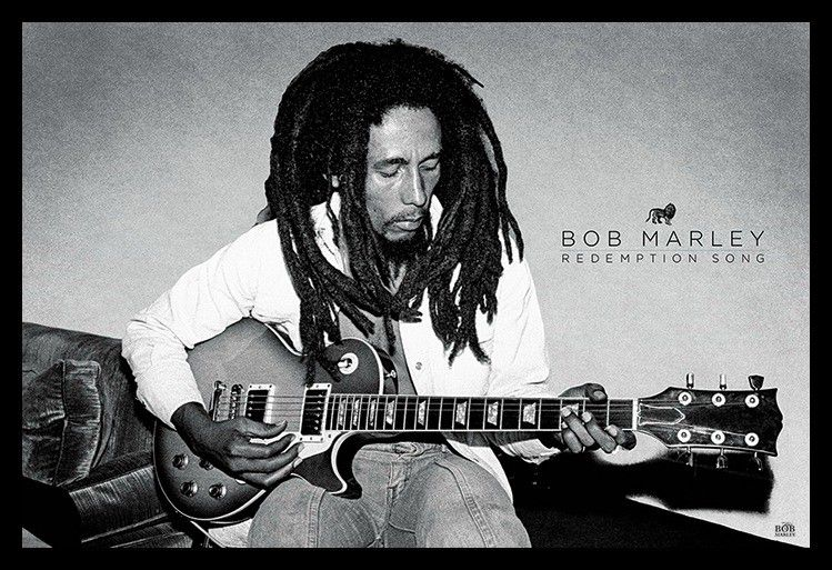 Bob Marley - Redemption Song - Poster - egoamo.co.za