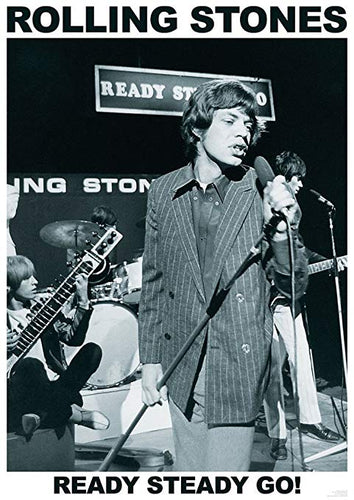 Rolling Stones - Ready Steady Go - Poster - egoamo.co.za