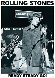 Rolling Stones - Ready Steady Go - Rock concert music poster | egoamo.co.za