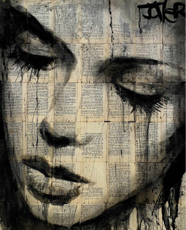 Loui Jover - Aarow Art Print - egoamo.co.za