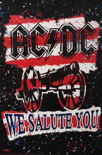 AC/DC - We Salute You - Poster - egoamo.co.za