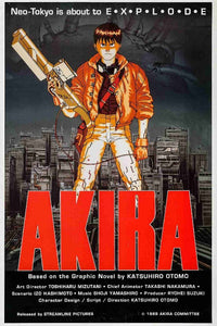 Akira - Anime Movie Poster - egoamo.co.za