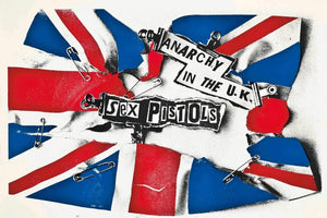 Sex Pistols - Anarchy in the UK Poster - egoamo.co.za