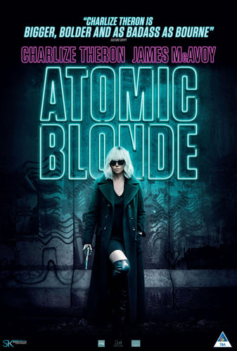 Atomic Blonde - Laminated, Mounted and Framed Original Movie Poster - egoamo.co.za