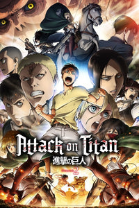 Attack on Titan Season 2 Anime Poster - egoamo.co.za