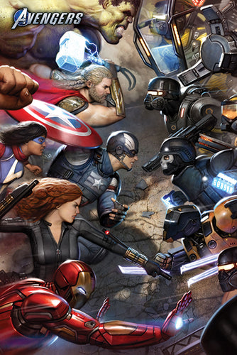 Avengers - Gamerverse Face Off Poster Egoamo.co.za Posters