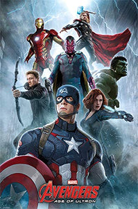 Avengers Age of Ultron - Collectable Movie Poster - egoamo.co.za