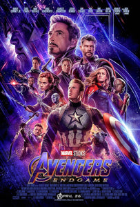 Avengers Endgame - Official Movie Poster - egoamo.co.za
