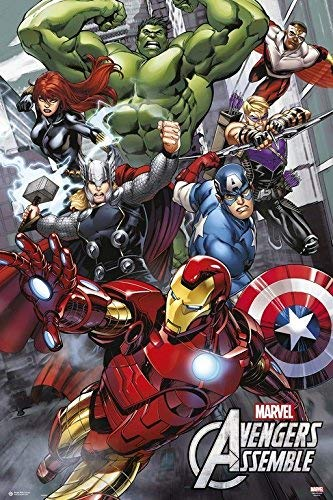 Avengers Assemble - Marvel Comics Poster - egoamo.co.za