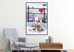 BT21 Cartoon Network - Play Time Poster egoamo.co.za Posters