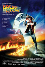 Back to the Future - with credits Poster - egoamo.co.za
