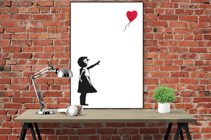 Banksy - Balloon Girl Poster - egoamo.co.za