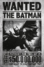 Batman Arkham Origins - Wanted The Batman - Poster - egoamo.co.za