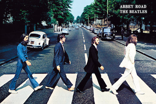 The Beatles - Abbey Road Poster - egoamo.co.za