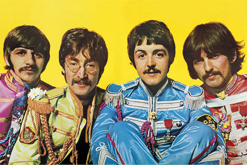 The Beatles - Sgt. Pepper's Lonely Hearts Club Band - Poster - egoamo.co.za