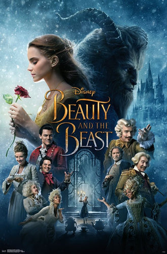 Disney's Beauty and the Beast - Poster - egoamo.co.za