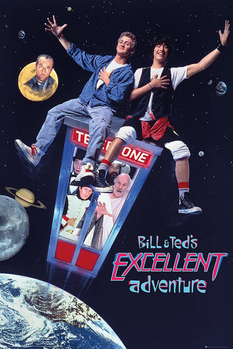 Bill and Teds Excellent Adventure Poster Egoamo.co.za Posters