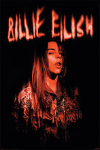 Billie Eilish Red Zone Poster egoamo.co.za Posters