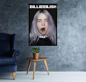 Billie Eilish Spider Poster - egoamo.co.za