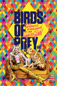 Birds of Prey - Harley's Hyena Poster - egoamo.co.za
