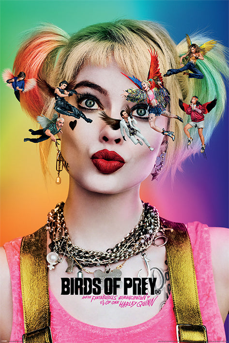 Birds of Prey Poster - egoamo.co.za