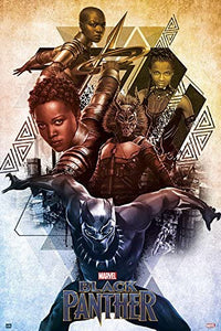 Black Panther - Characters Poster - egoamo.co.za