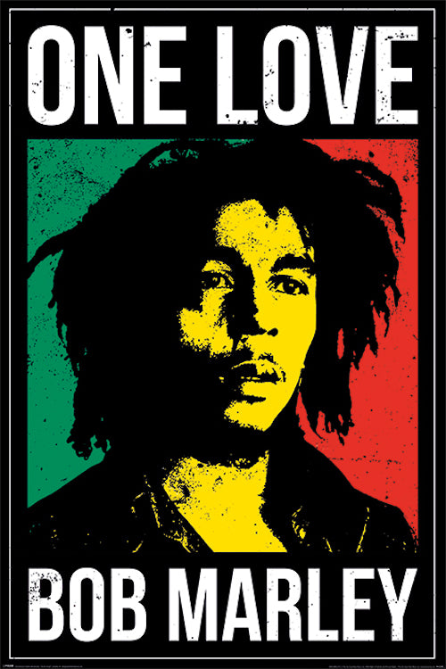 Bob Marley One Love Poster - egoamo.co.za