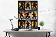 Call of Duty - Black Ops Characters Poster - egoamo.co.za