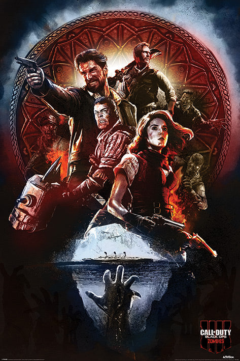 Call of Duty - Black Ops 4 Zombies Poster - egoamo.co.za