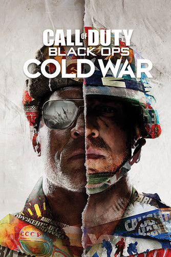 Call of Duty - Black Ops Cold War Gaming Poster Egoamo.co.za Poster
