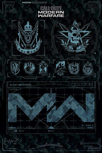 Call of Duty Modern Warfare Factions Poster egoamo.co.za posters