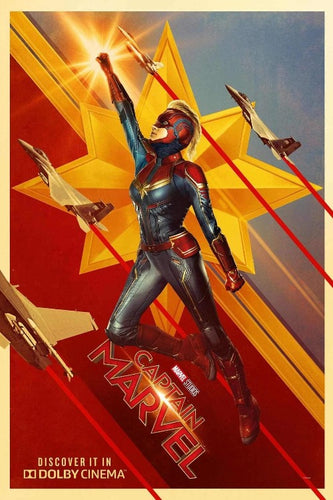 Captain Marvel Poster - egoamo.co.za
