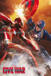 Captain America Civil War - Collectable Movie Poster - egoamo.co.za