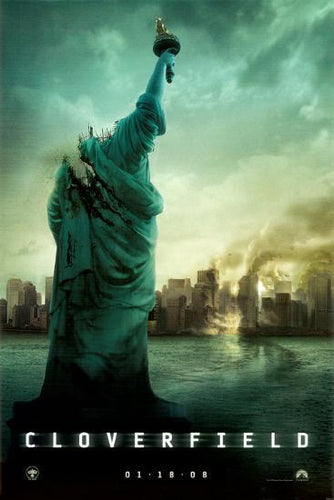 Cloverfield Laminated and Mounted Poster - egoamo.co.za