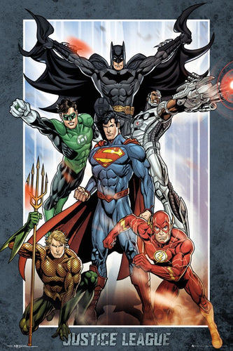 DC Comics - Justice League Poster - egoamo.co.za