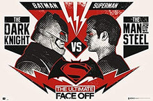 Batman vs Superman - The Ultimate Face Off Poster - egoamo.co.za