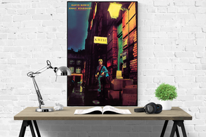 David Bowie - Ziggy Stardust Album Cover - Poster - egoamo.co.za