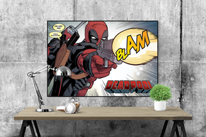 Deadpool (BLAM) Poster - egoamo.co.za