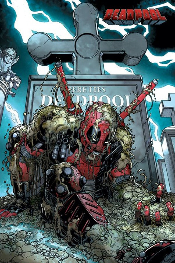 Deadpool - Grave Comic Poster egoamo.co.za Posters