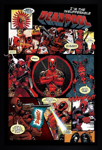 Deadpool - Insufferable Comic Poster  - Egoamo.co.za Posters