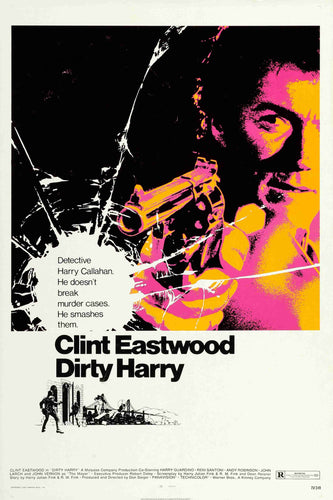 Dirty Harry Movie Poster - egoamo.co.za